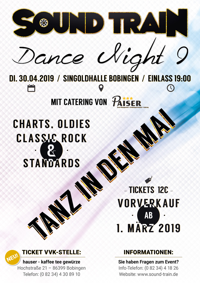 SOUND TRAIN Dance Night 9
